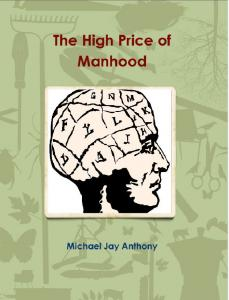Book front cover: The High Price of Manhood